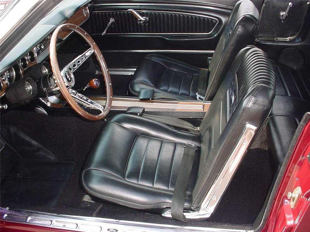 "1965 FORD MUSTANG GT ""K"" CODE CONVERTIBLE - Interior - 44839"