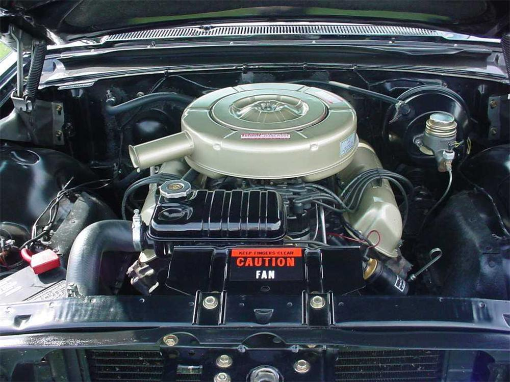 1964 FORD GALAXIE 500 XL CONVERTIBLE - Engine - 44840