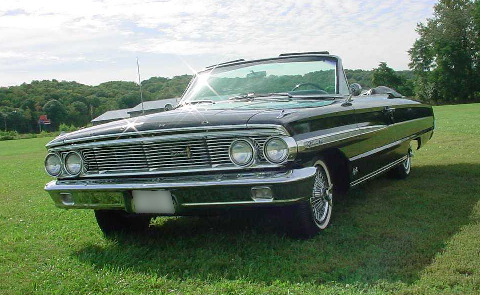1964 FORD GALAXIE 500 XL CONVERTIBLE - Front 3/4 - 44840