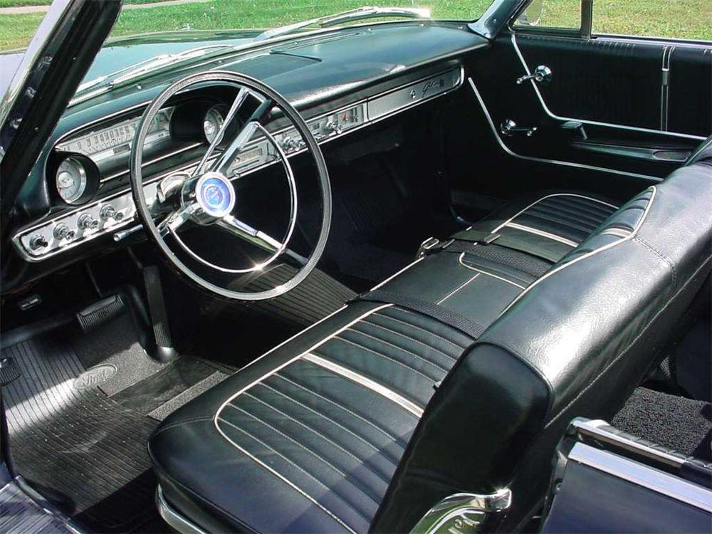 1964 FORD GALAXIE 500 XL CONVERTIBLE - Interior - 44840