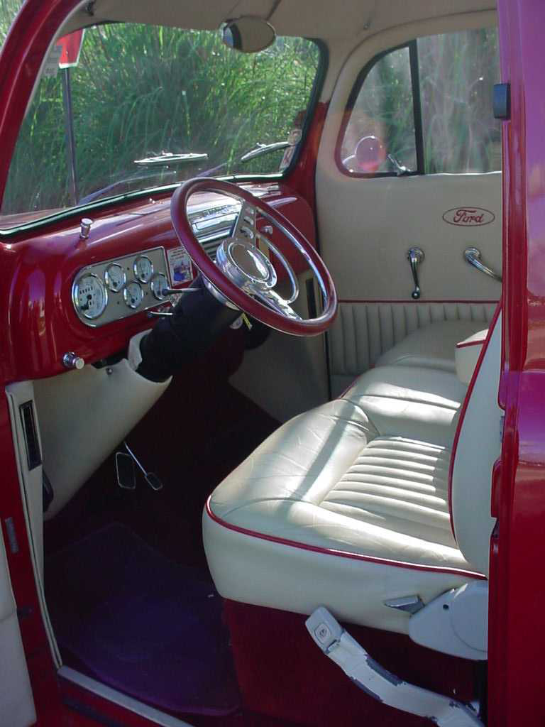 1948 FORD F-100 CUSTOM PICKUP - Interior - 44841