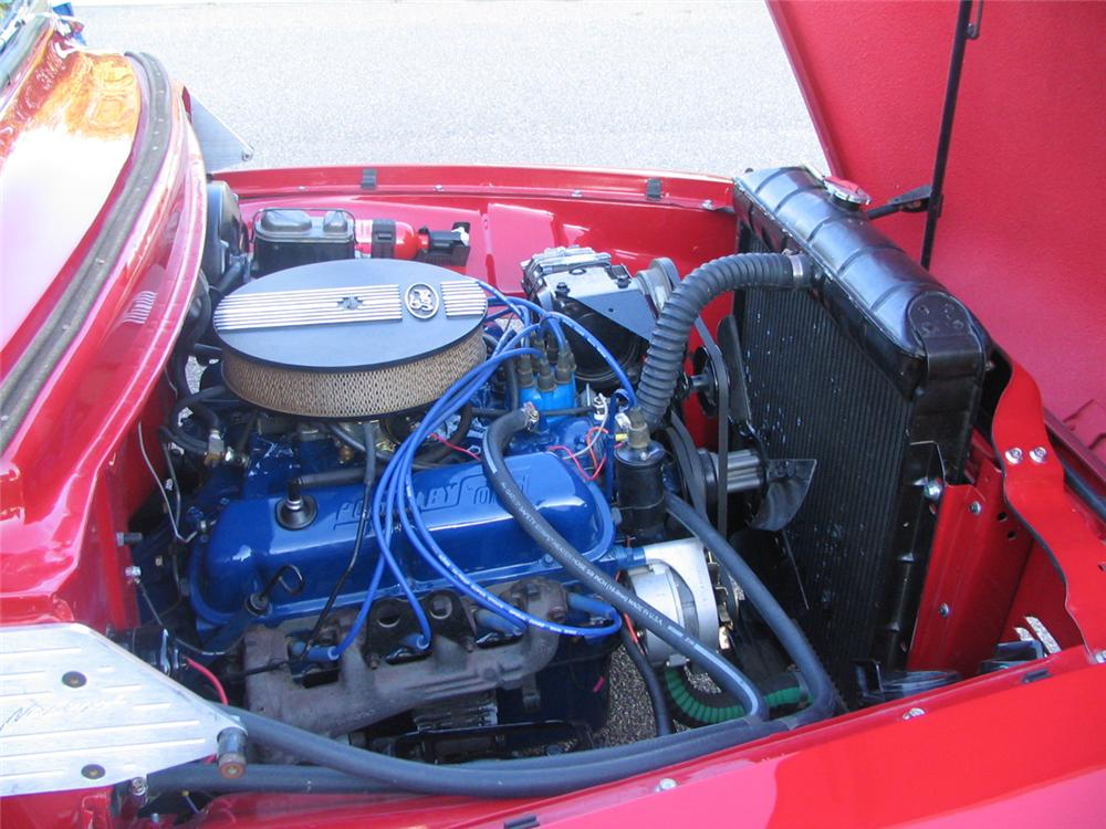 1956 FORD F-100 CUSTOM PICKUP - Engine - 44844