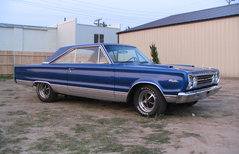1967 PLYMOUTH SATELLITE 2 DOOR HARDTOP - Front 3/4 - 44846