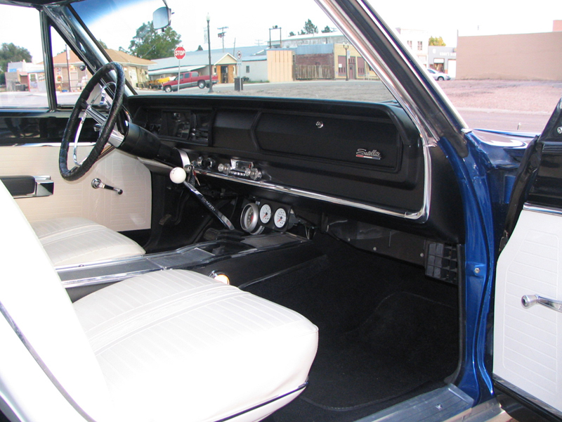 1967 PLYMOUTH SATELLITE 2 DOOR HARDTOP - Interior - 44846