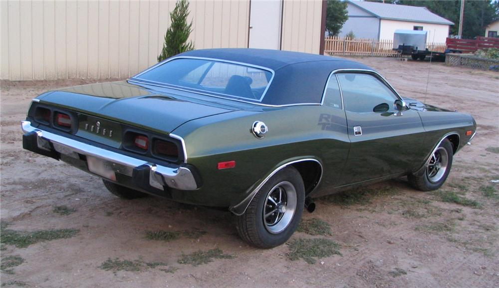 1973 DODGE CHALLENGER R/T RE-CREATION 2 DOOR HARDTOP - Rear 3/4 - 44847