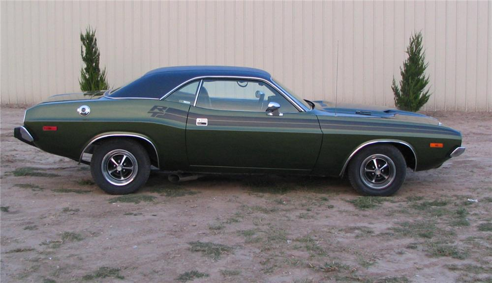 1973 DODGE CHALLENGER R/T RE-CREATION 2 DOOR HARDTOP - Side Profile - 44847