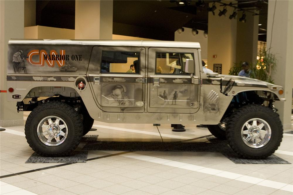 "1993 HUMMER H1 ""CNNS WARRIOR ONE"" - Side Profile - 44878"