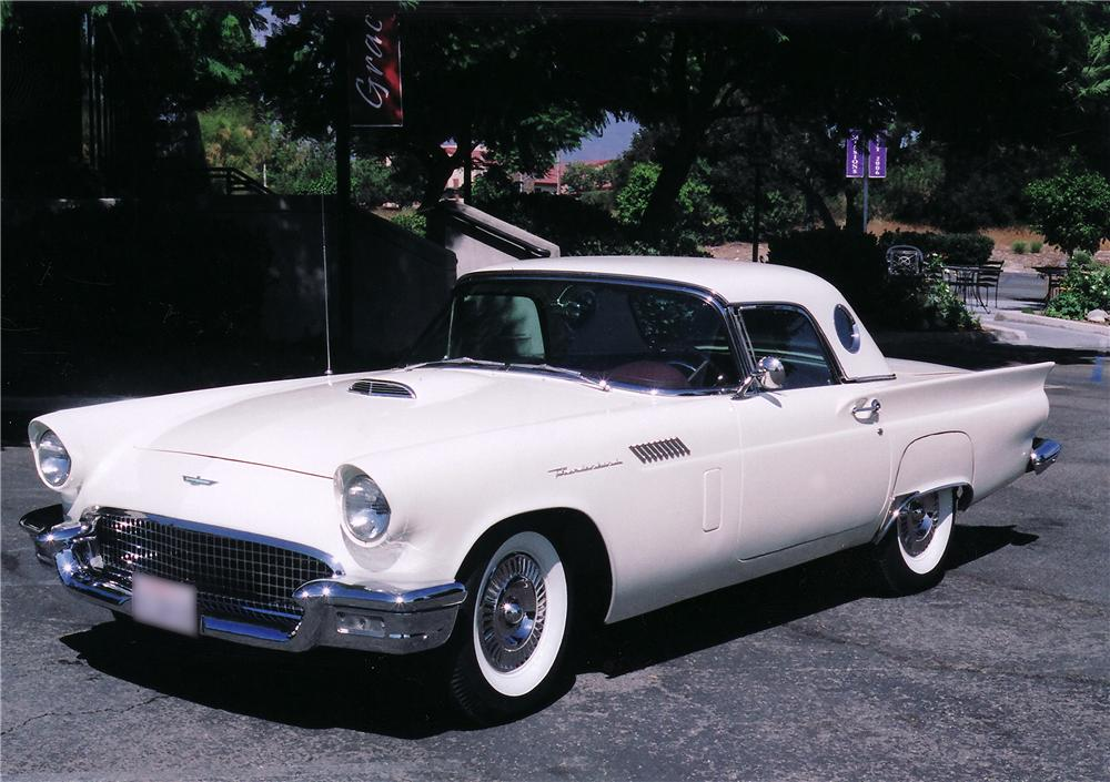 1957 FORD THUNDERBIRD CONVERTIBLE - Front 3/4 - 44903