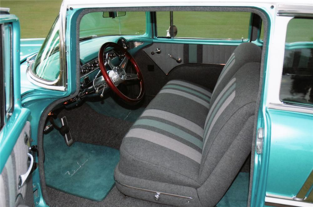 1955 CHEVROLET BEL AIR CUSTOM 2 DOOR SEDAN - Interior - 45002