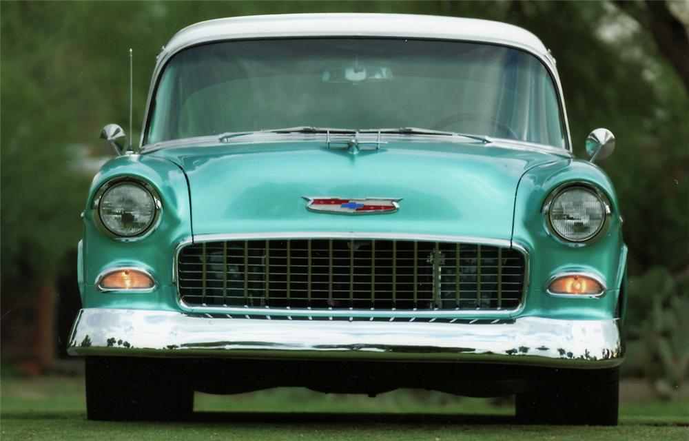 1955 CHEVROLET BEL AIR CUSTOM 2 DOOR SEDAN - Misc 2 - 45002