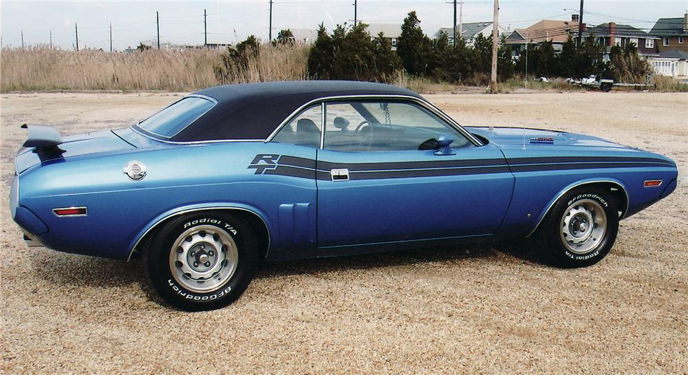 1971 DODGE CHALLENGER R/T COUPE - Side Profile - 45053