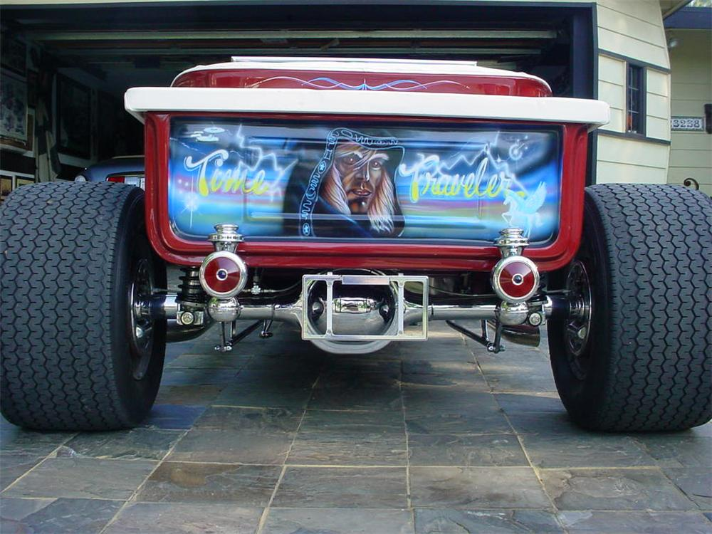1923 FORD T-BUCKET CUSTOM ROADSTER - Rear 3/4 - 45057