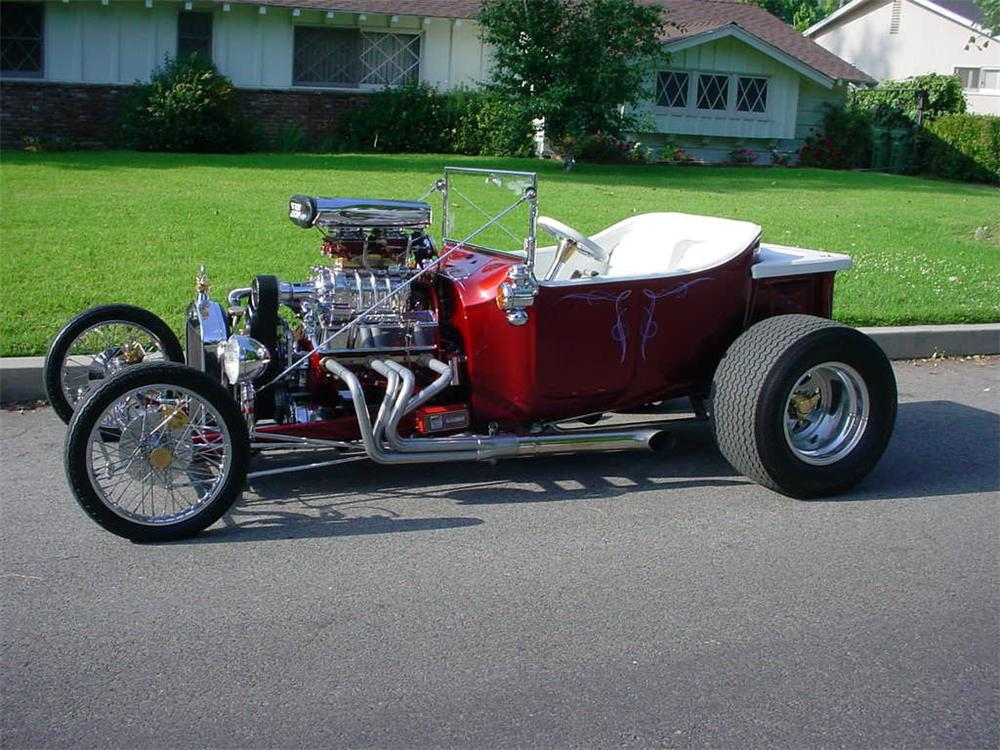 1923 FORD T-BUCKET CUSTOM ROADSTER - Side Profile - 45057