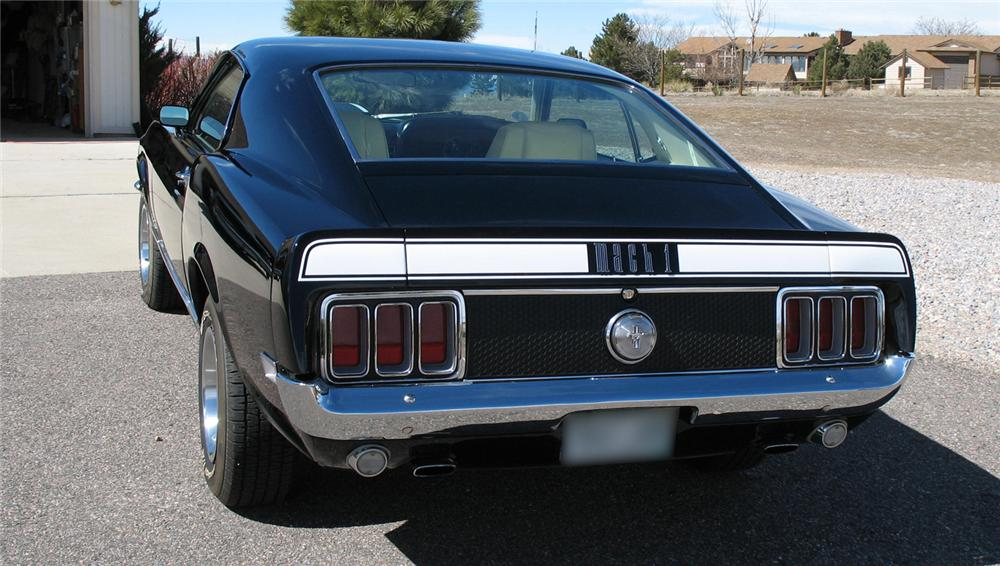 1970 FORD MUSTANG MACH 1 FASTBACK - Rear 3/4 - 45076