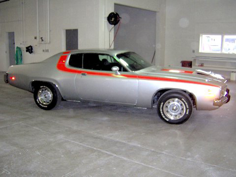 1973 PLYMOUTH ROAD RUNNER 2 DOOR HARDTOP - Side Profile - 45098