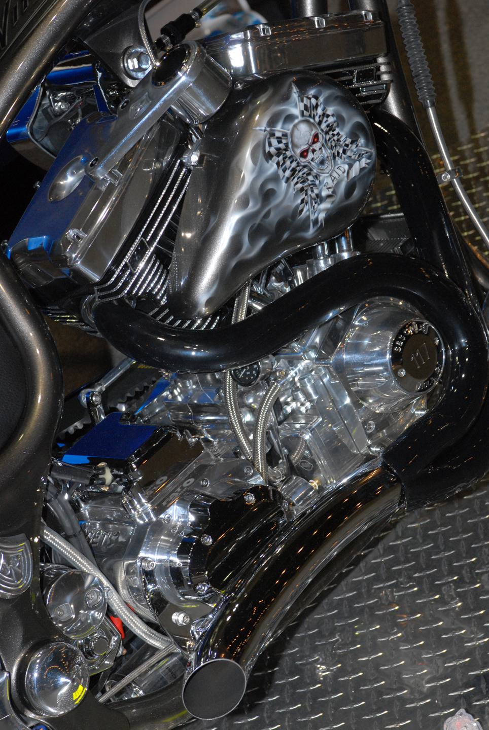 2007 VIPER 2 CUSTOM MOTORCYCLE - Engine - 45101
