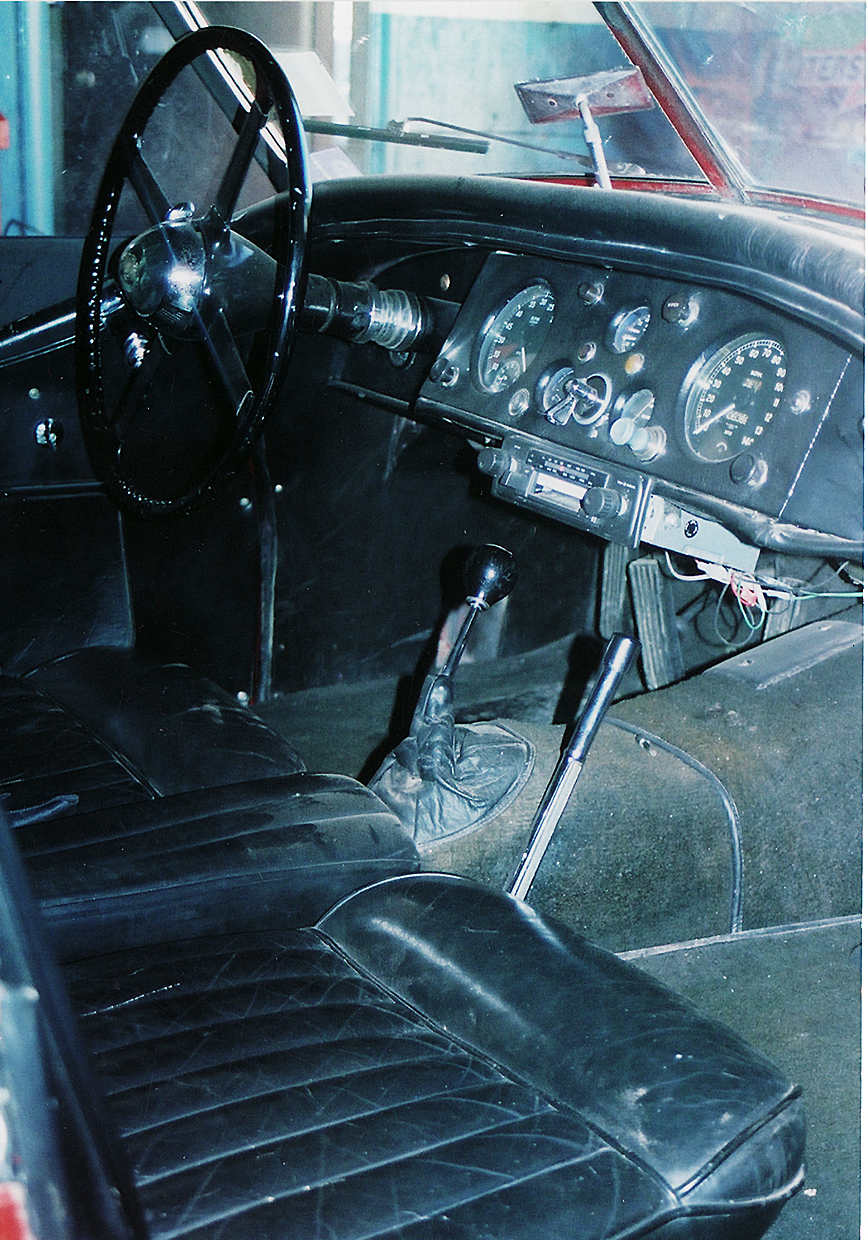 1954 JAGUAR XK 120 CONVERTIBLE - Interior - 45119