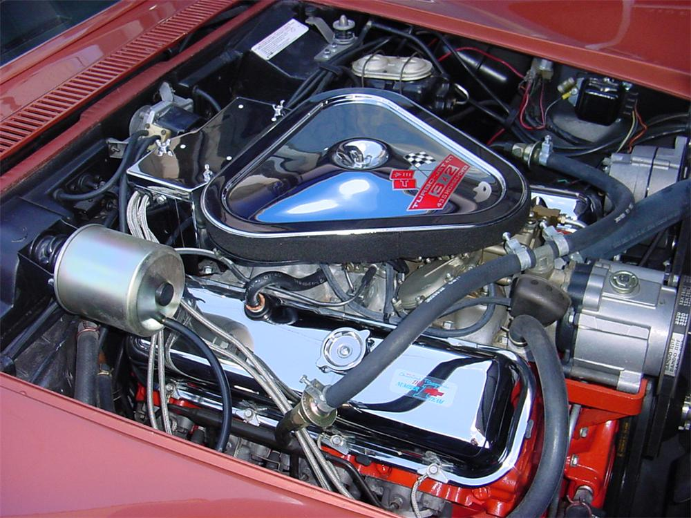 1968 CHEVROLET CORVETTE CONVERTIBLE - Engine - 45121