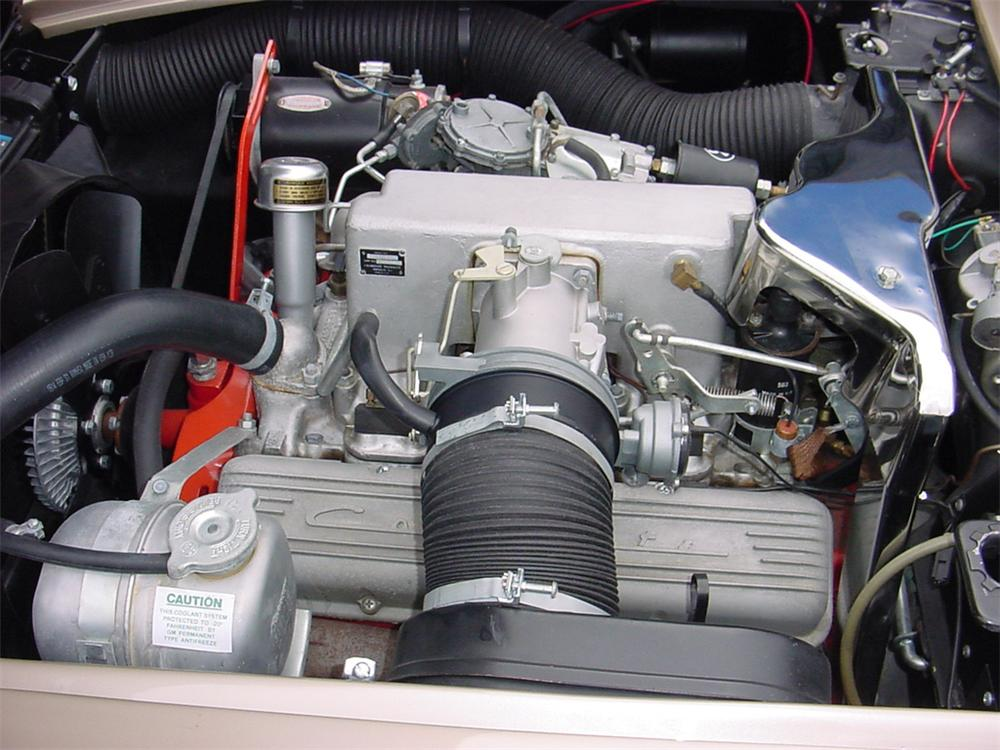 1962 CHEVROLET CORVETTE CONVERTIBLE - Engine - 45122