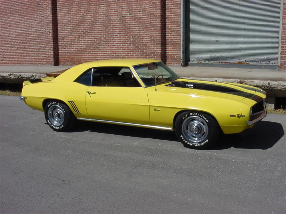 1969 CHEVROLET CAMARO Z/28 COUPE - Front 3/4 - 45125