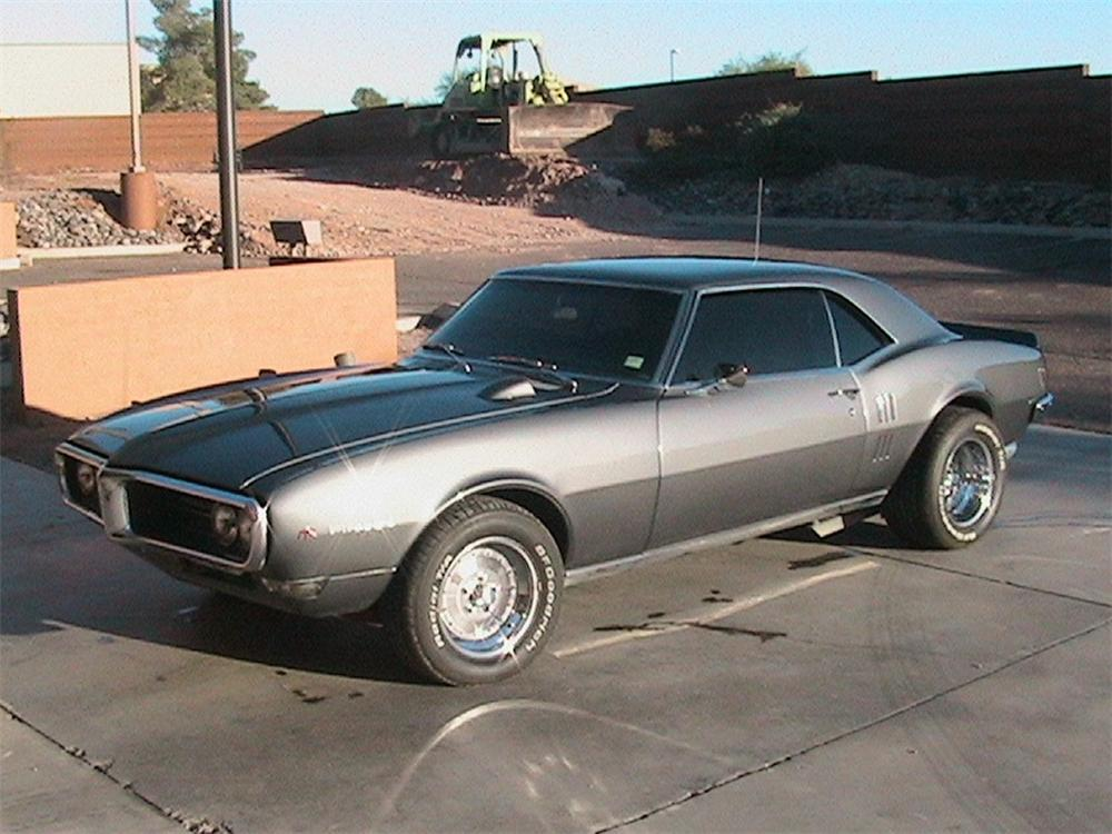 1968 PONTIAC FIREBIRD CUSTOM COUPE - Front 3/4 - 45153