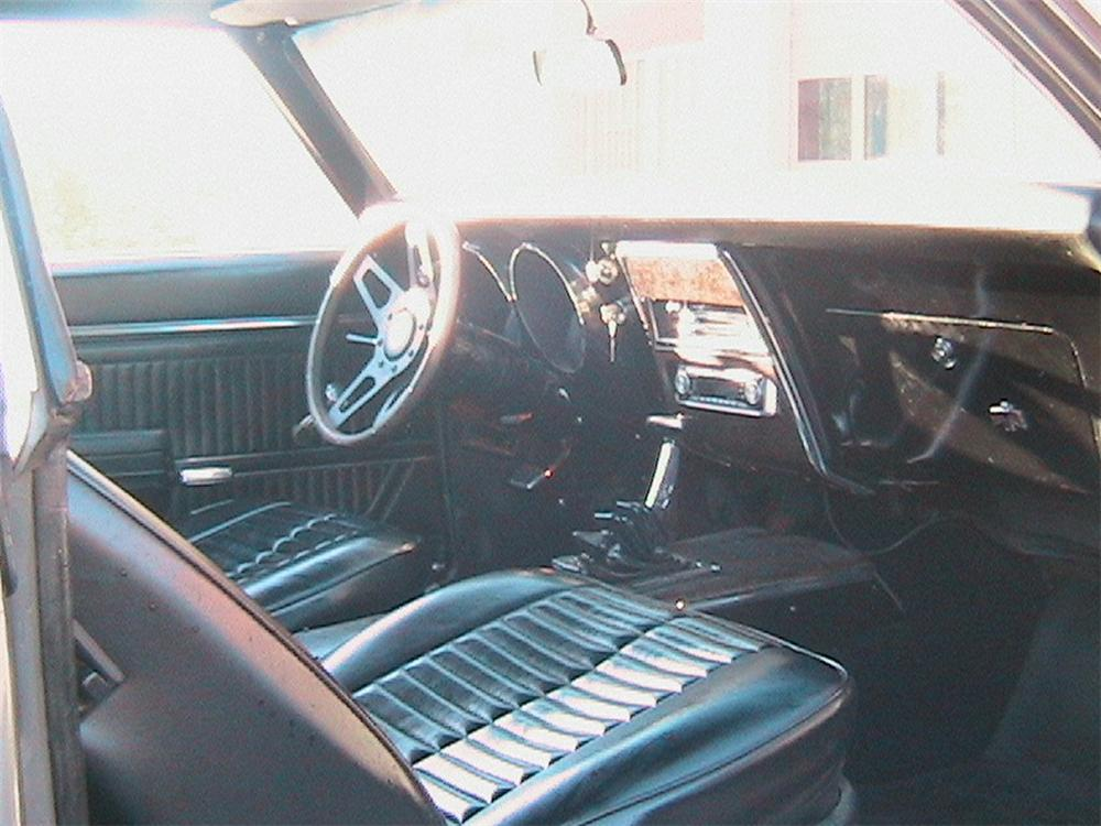 1968 PONTIAC FIREBIRD CUSTOM COUPE - Interior - 45153