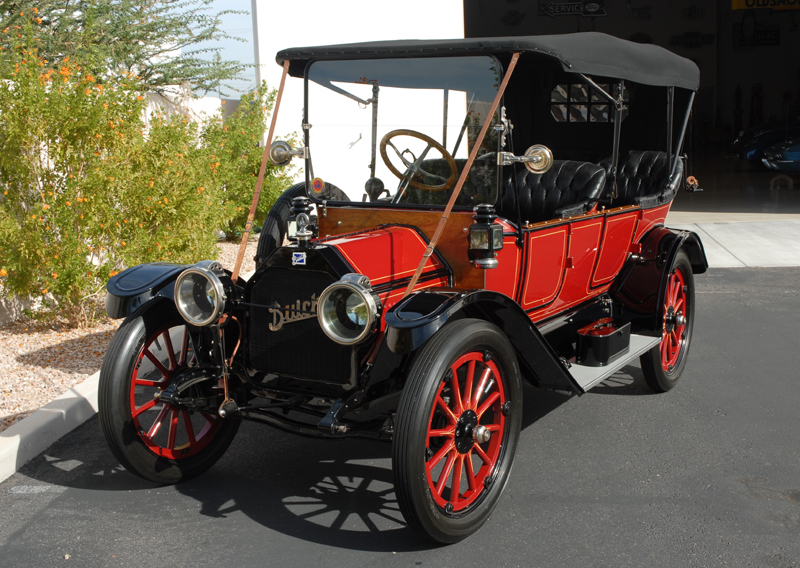 1913 BUICK 25 TOURING CAR - Front 3/4 - 45248