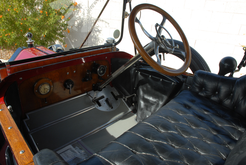 1913 BUICK 25 TOURING CAR - Interior - 45248