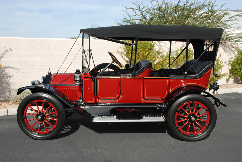 1913 BUICK 25 TOURING CAR - Side Profile - 45248
