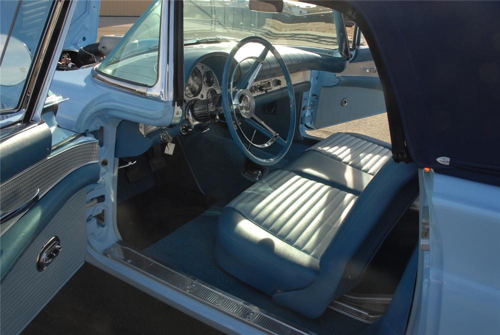 1957 FORD THUNDERBIRD F CONVERTIBLE - Interior - 45272