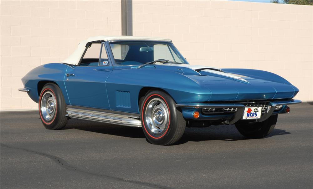 1967 CHEVROLET CORVETTE CONVERTIBLE - Misc 1 - 45275