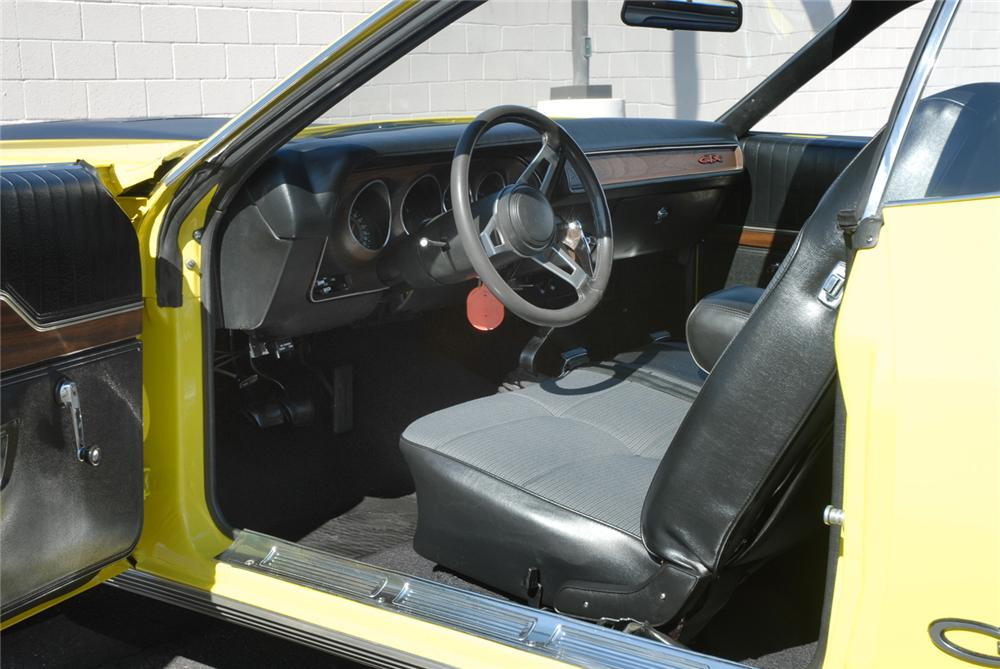 1971 PLYMOUTH GTX 2 DOOR HARDTOP - Interior - 45281