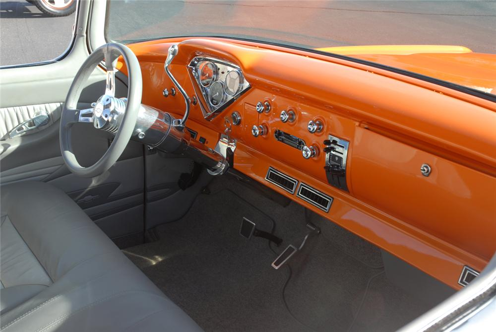 1957 CHEVROLET CAMEO PICKUP - Interior - 45284