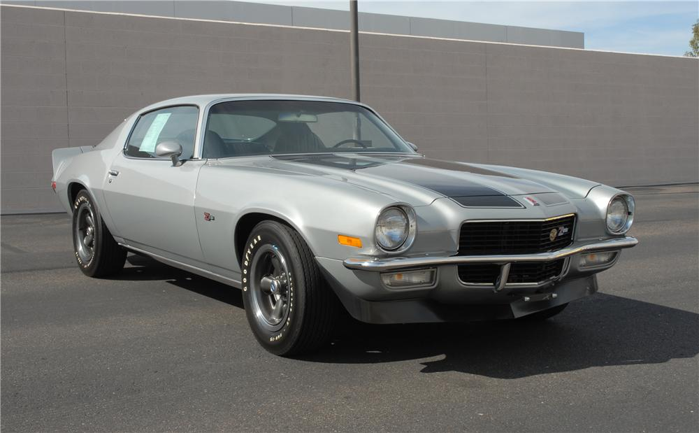 1971 CHEVROLET CAMARO Z/28 COUPE - Front 3/4 - 45286