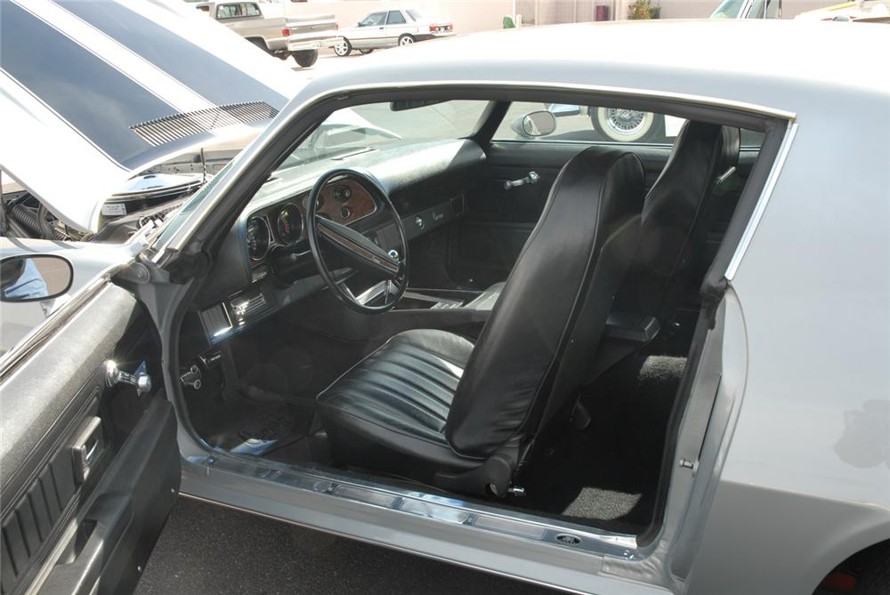 1971 CHEVROLET CAMARO Z/28 COUPE - Interior - 45286