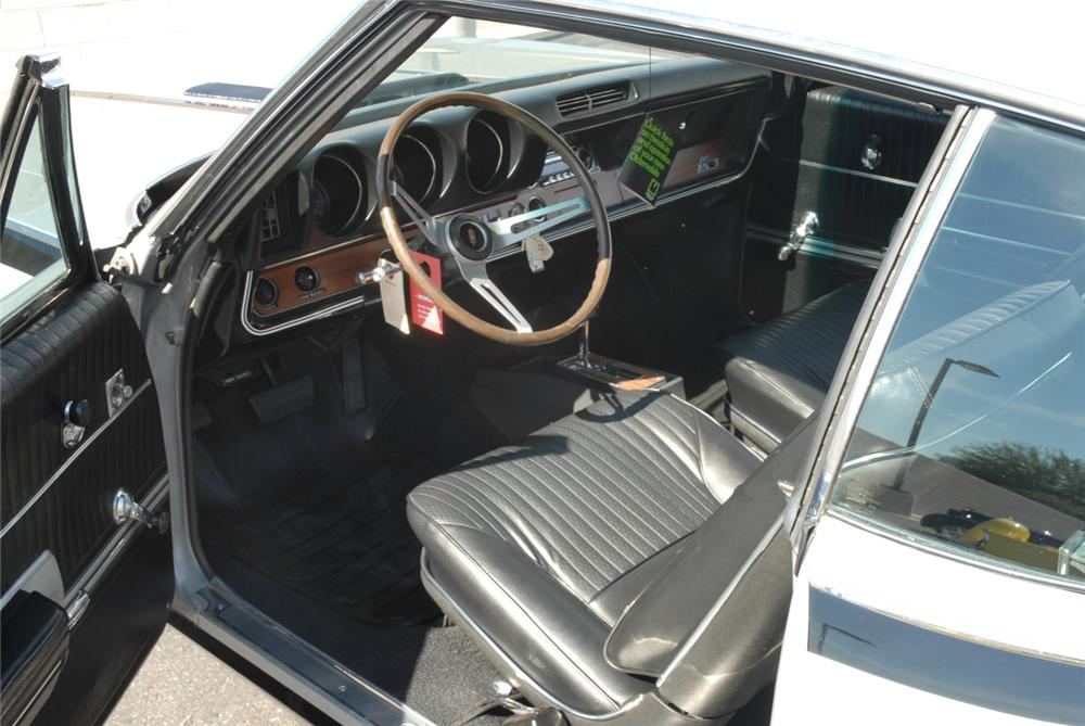 1968 OLDSMOBILE HURST HO COUPE - Interior - 45288
