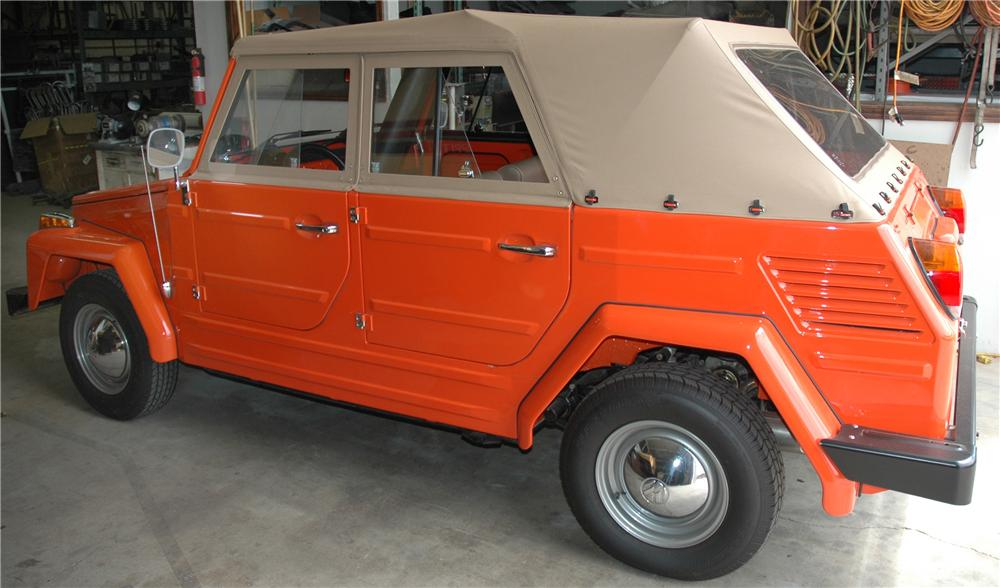 1973 VOLKSWAGEN THING CONVERTIBLE - Front 3/4 - 45291
