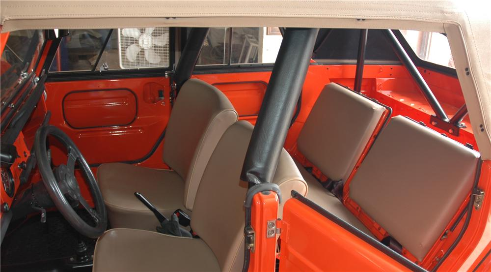 1973 VOLKSWAGEN THING CONVERTIBLE - Interior - 45291
