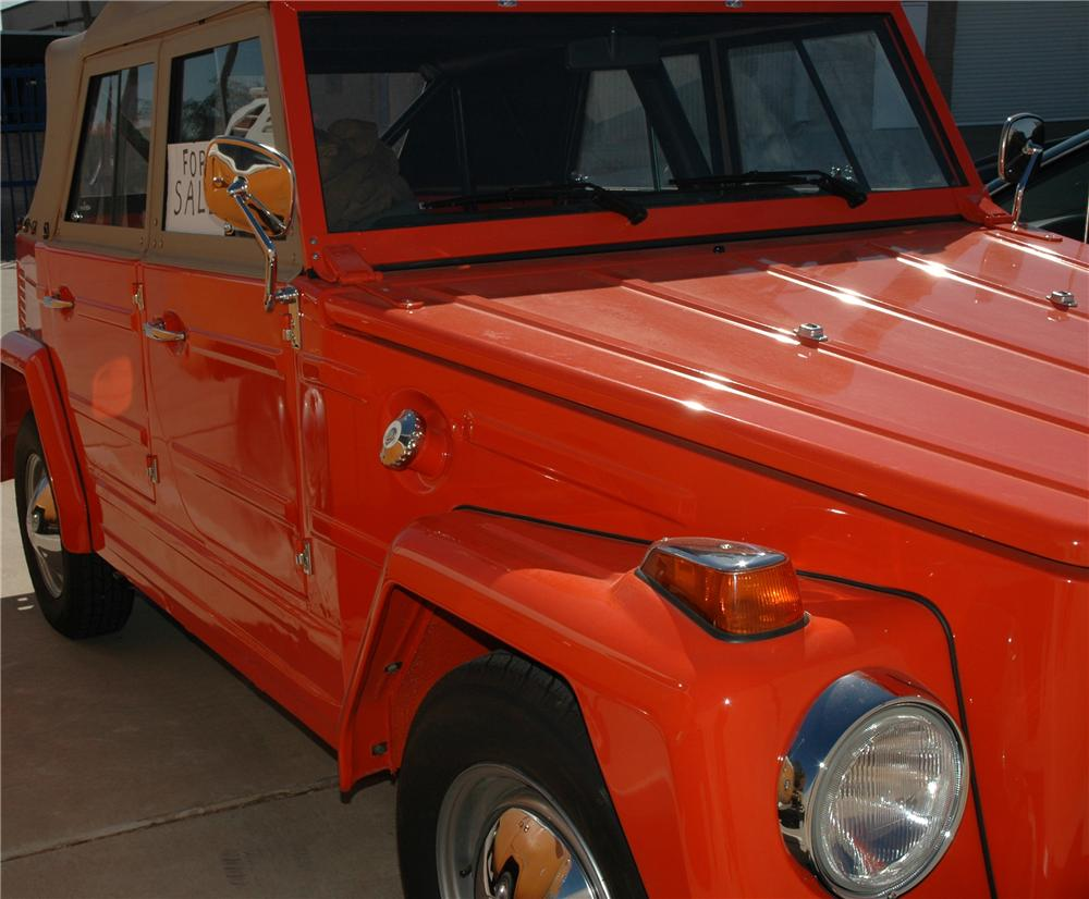 1973 VOLKSWAGEN THING CONVERTIBLE - Misc 1 - 45291