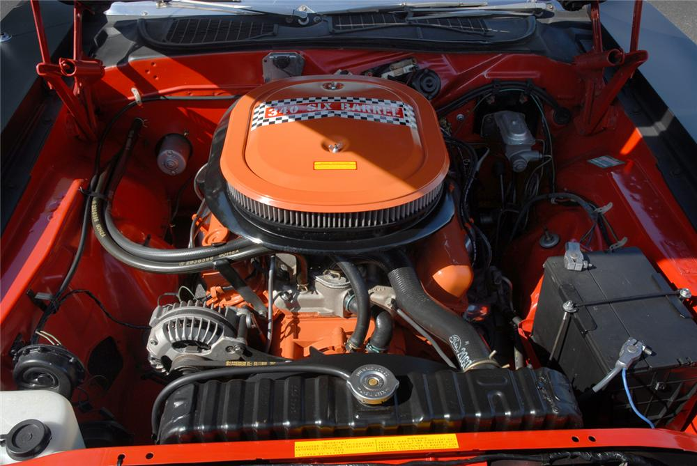1970 PLYMOUTH CUDA AAR CONVERTIBLE RE-CREATION - Engine - 45292