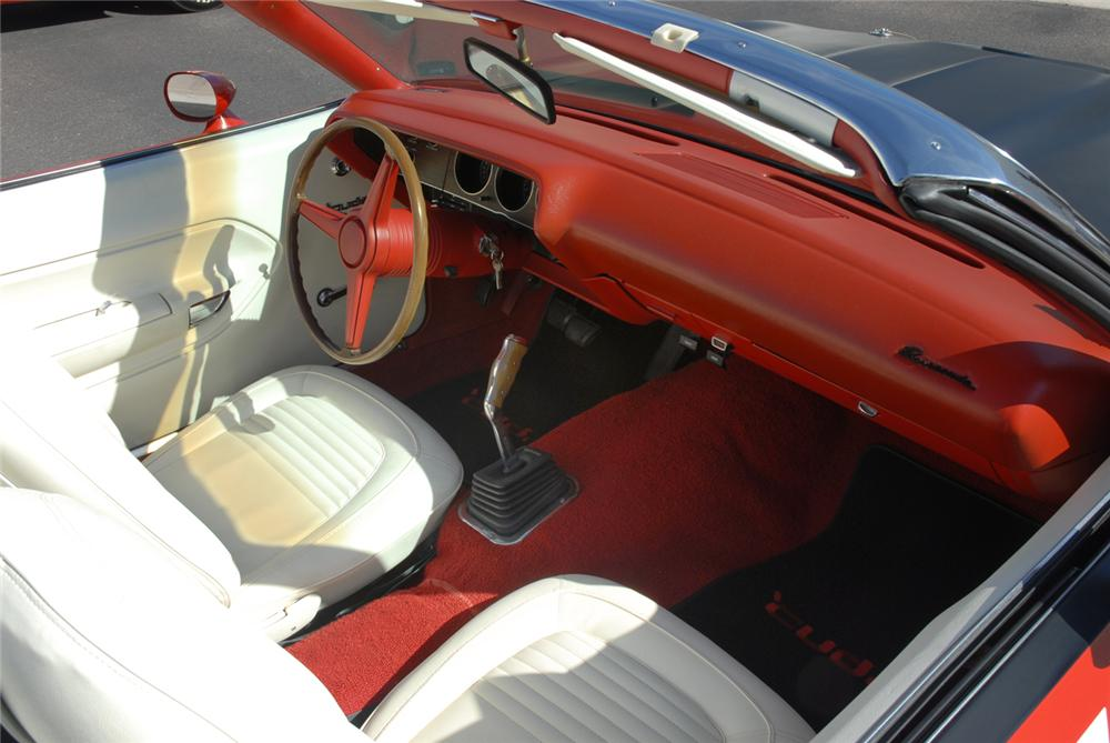 1970 PLYMOUTH CUDA AAR CONVERTIBLE RE-CREATION - Interior - 45292