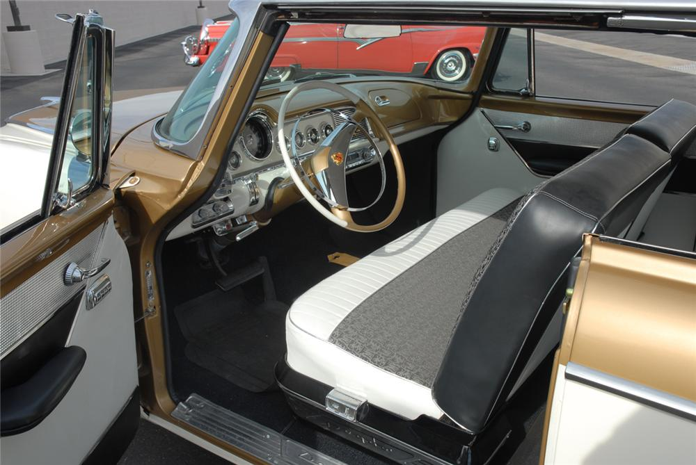 1956 DODGE CUSTOM ROYAL GOLDEN LANCER - Interior - 45296