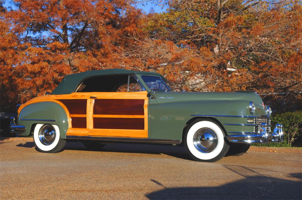 1948 CHRYSLER TOWN & COUNTRY CONVERTIBLE - Front 3/4 - 45307