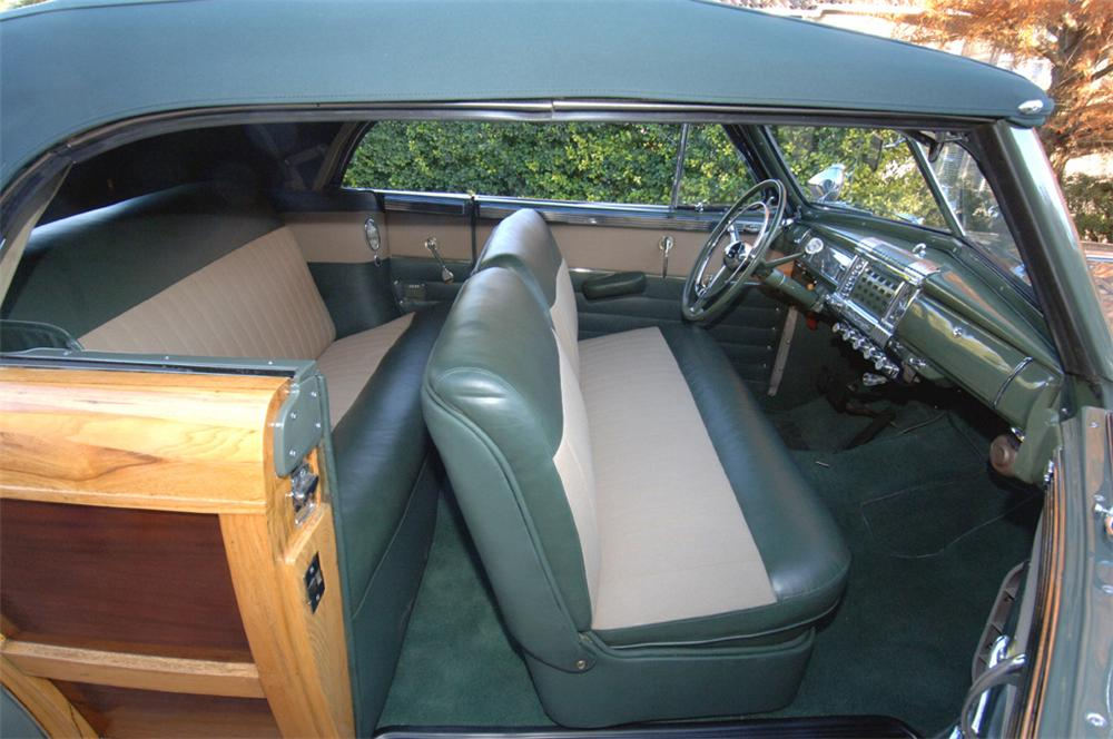 1948 CHRYSLER TOWN & COUNTRY CONVERTIBLE - Interior - 45307