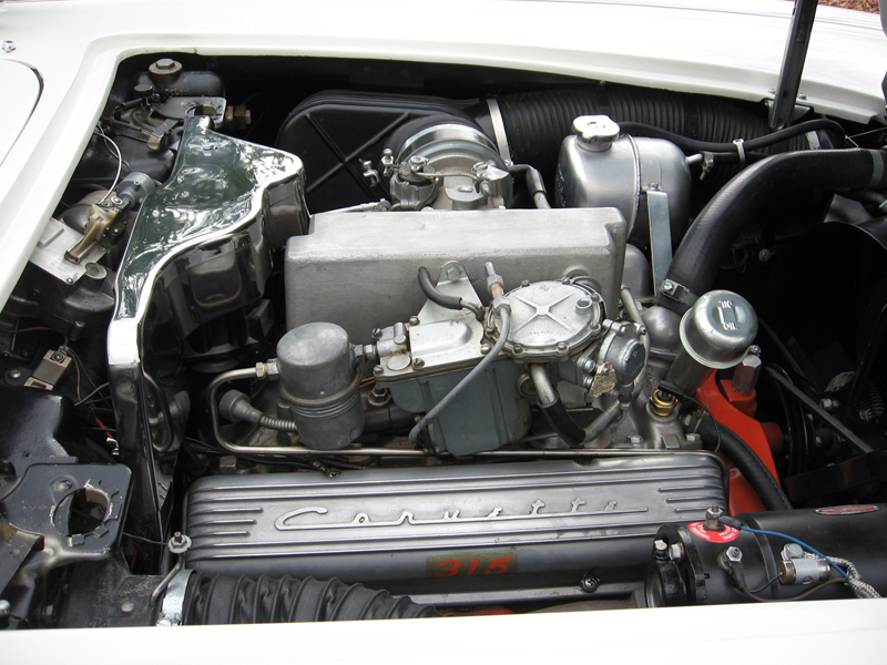 1961 CHEVROLET CORVETTE CONVERTIBLE - Engine - 45313