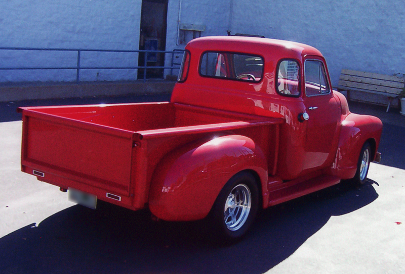 1955 CHEVROLET CUSTOM PICKUP - Rear 3/4 - 45315