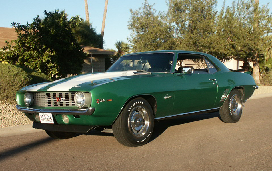 1969 CHEVROLET CAMARO Z/28 COUPE - Front 3/4 - 45318