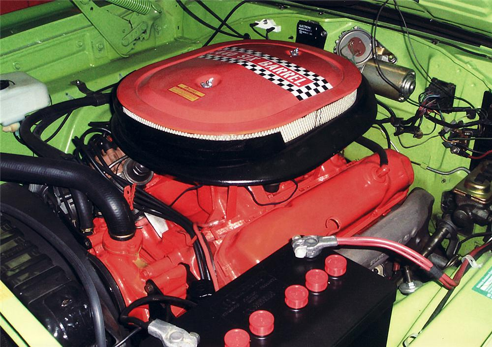 1970 PLYMOUTH ROAD RUNNER CONVERTIBLE - Engine - 45320