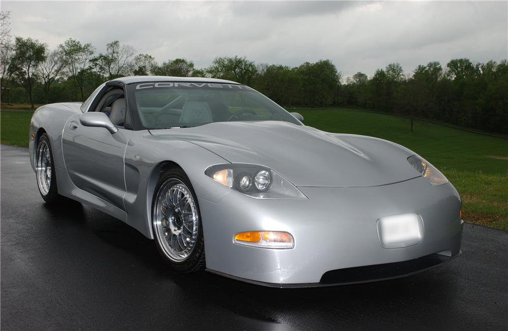 1998 CHEVROLET CORVETTE LINGENFELTER TWIN TURBO COUPE - Front 3/4 - 45323