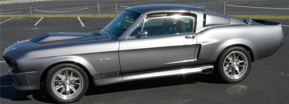 1968 FORD MUSTANG GT500E CUSTOM FASTBACK - Side Profile - 45324